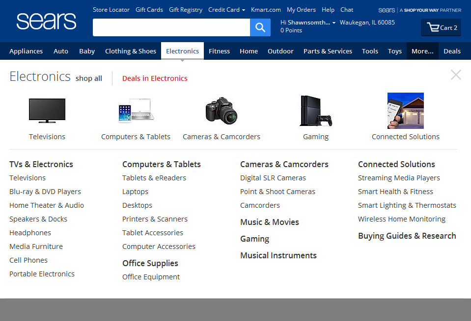 sears appliances accessories shawn oconnor portfolio